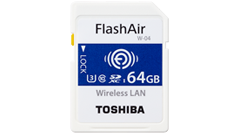 SDHC/SDXC Memory Card with embedded wireless LAN functionality FlashAir™ W-04